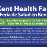 Kent Health Fair will be at YMCA on Saturday, Aug. 7
