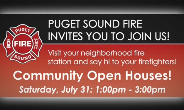 Puget Sound Fire holding Open Houses this Saturday, July 31