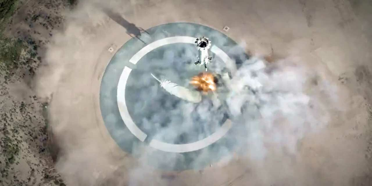Blue Origin's New Shepard completes mission withNASA-supportedpayloads onboard