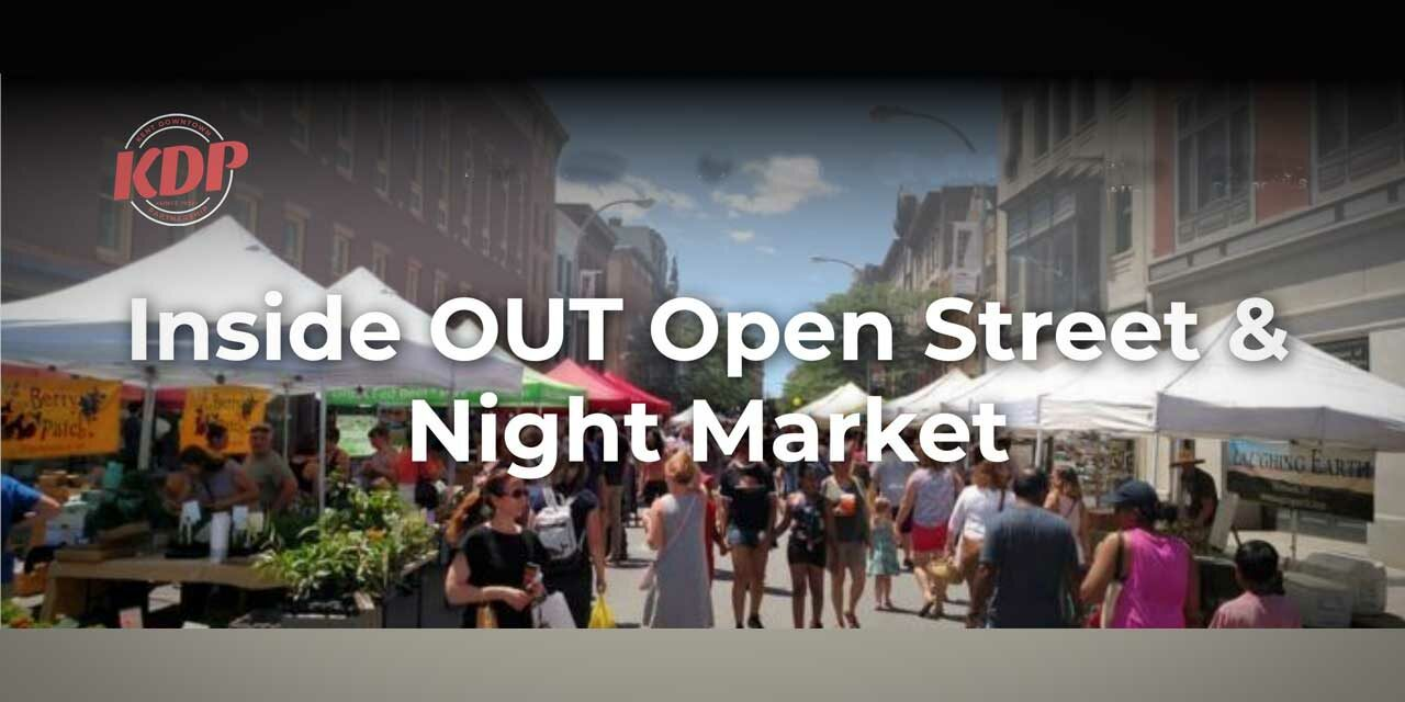 REMINDER: Inside OUT Marketplace, Sip, Savor & Swirl is downtown this Saturday