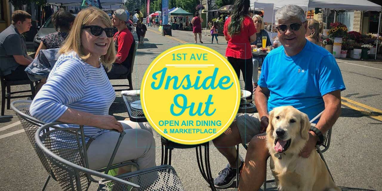 Weekend fun! Second-to-last Inside OUT Dining Marketplace will be this Sat. Aug. 21