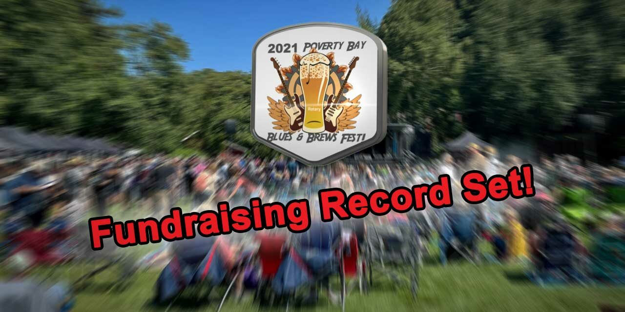 Rotary Club of Des Moines & Normandy Park breaks fundraising record at Blues & Brews