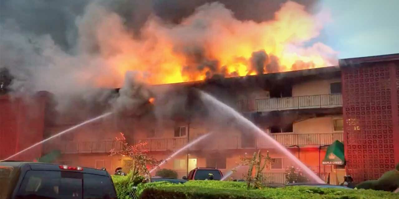 UPDATE: Officials confirm 3 killed in 3-alarm apartment fire in Tukwila Tuesday morning
