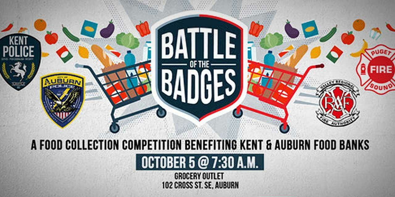 'Battle of the Badges' food drive competition returning Tuesday, Oct. 5 with a twist
