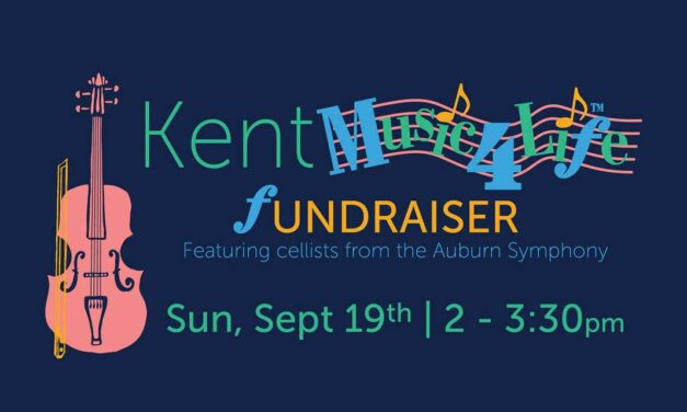 Fundraiser for Kent Chapter of Music4Life will be Sunday, Sept. 19