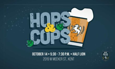 Talk with Kent Police Chief at 'Hops & Cops' on Thurs., Oct. 14