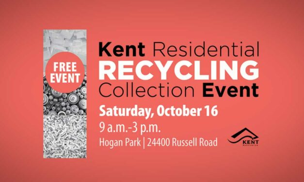 Fall Recycling Collection event will be at Hogan Park Saturday, Oct. 16