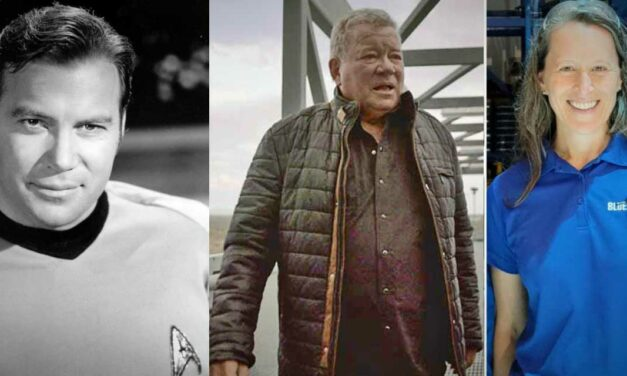 William Shatner to boldly go into space on Blue Origin's New Shepard Oct. 12